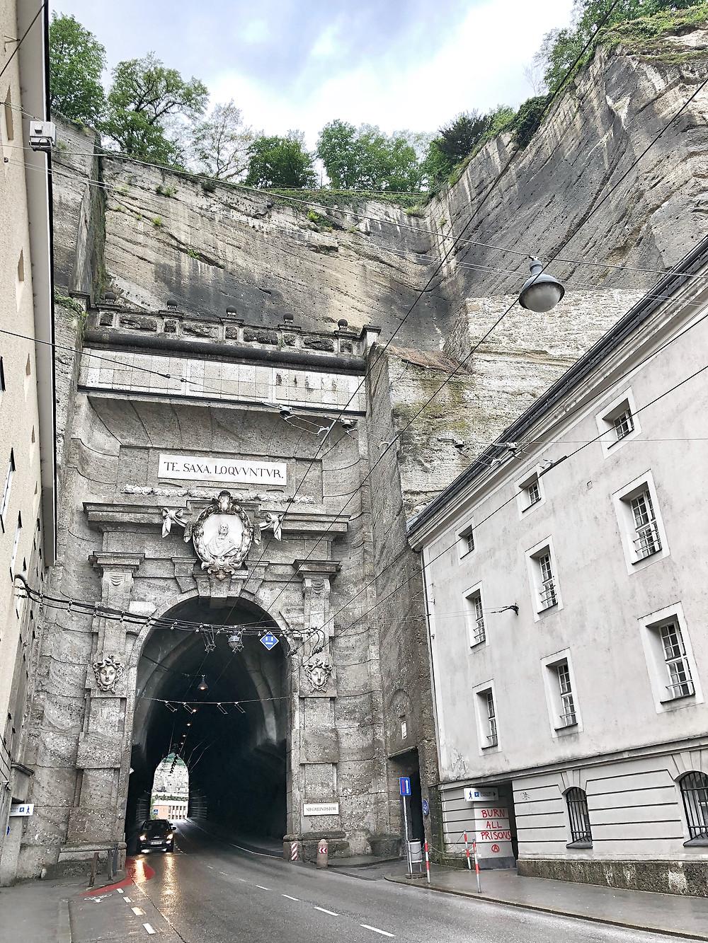 Siegmundstor Tunnel Salzburg