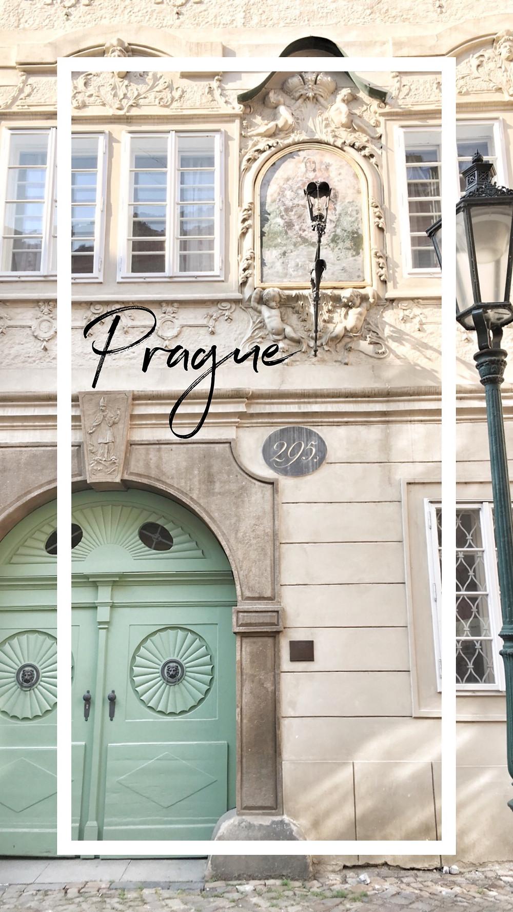 Lonnies Planet Pinterest post of Prague
