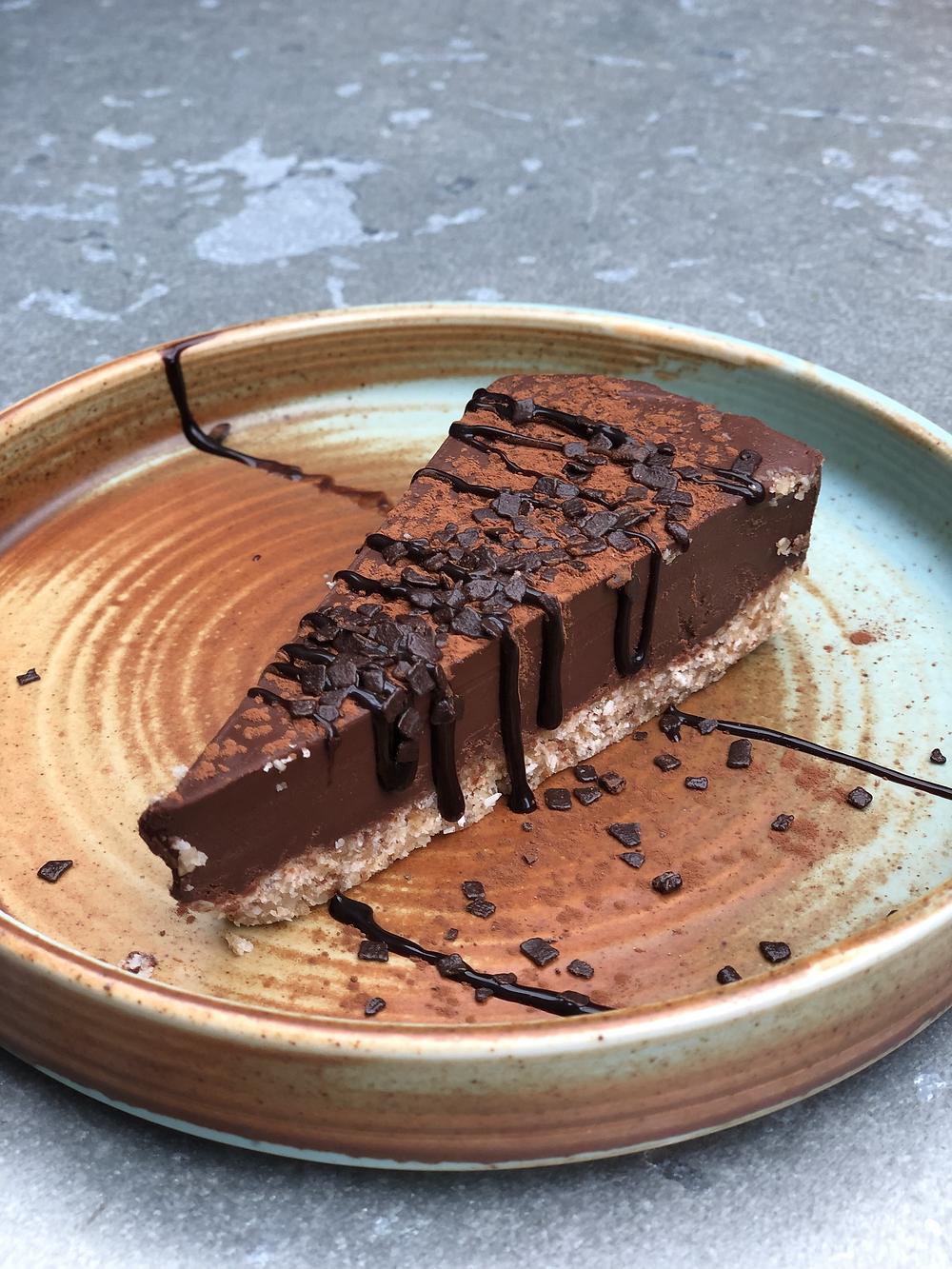 Chocolate cake at 'Pura Vida Foodbar' Midsland Terschelling