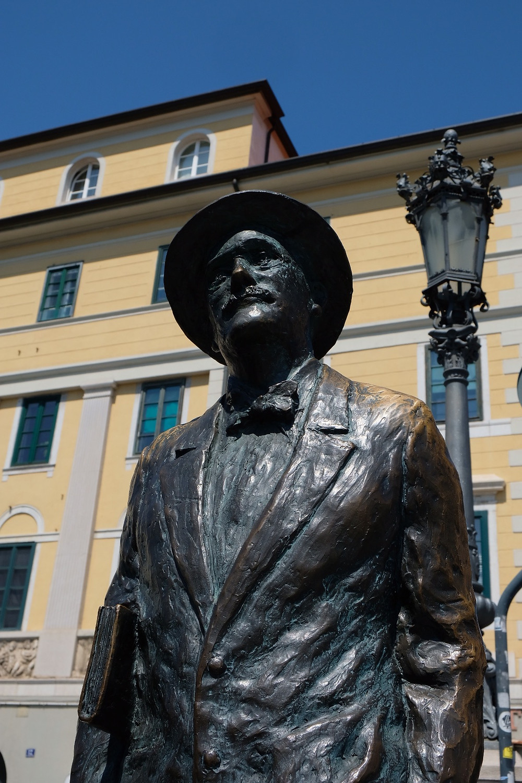 Statue of James Joyce Trieste