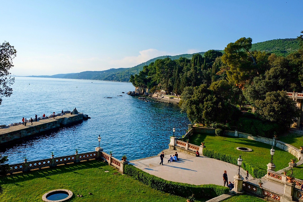 View from Miramare Castle Trieste