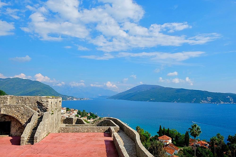 Fortress Kanli Kula in Herceg Novi