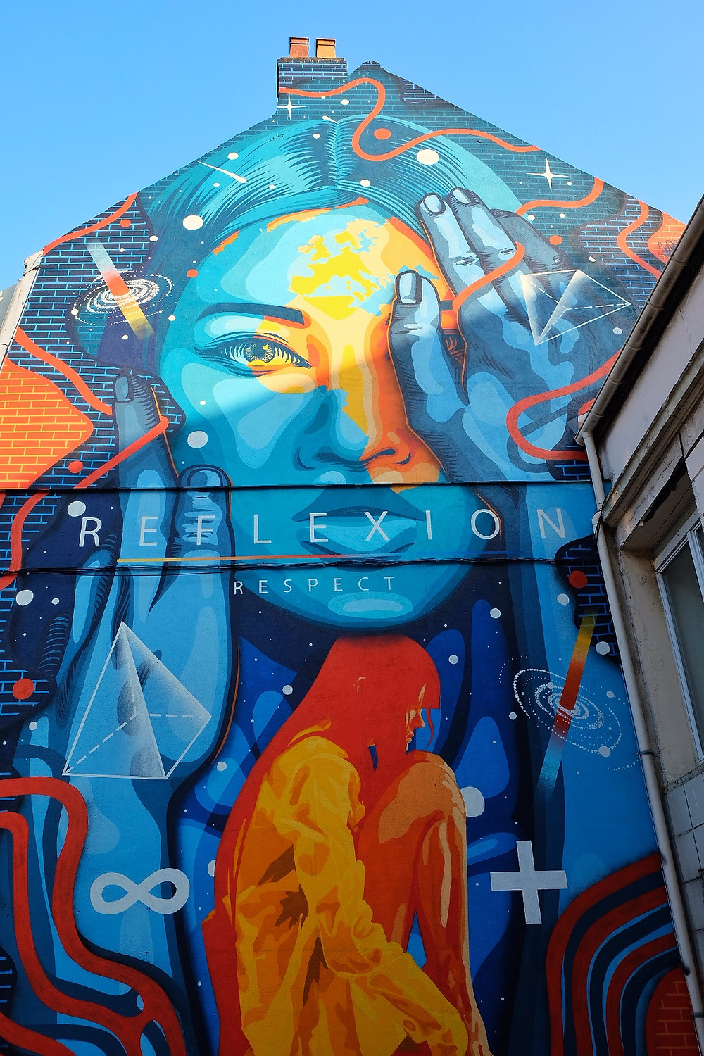 Street Art by Dourone in Boulogne-sur-Mer, France