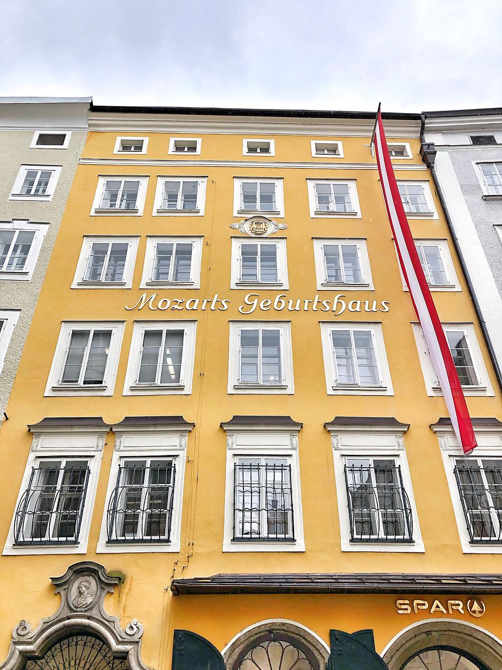 Mozart's Birthplace Salzburg