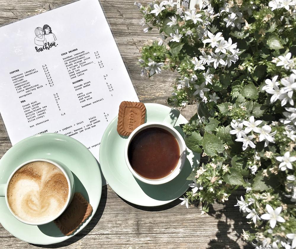 Coffee at Buchbar Antwerp