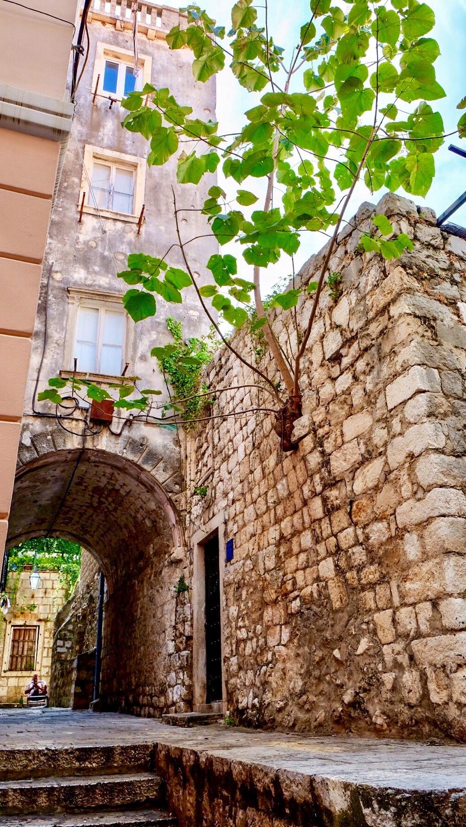 Streets of Dubrovnik Croatia