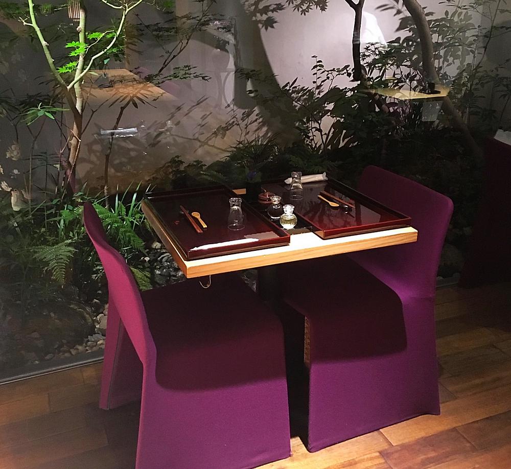Restaurant Oku in Kyoto Japan