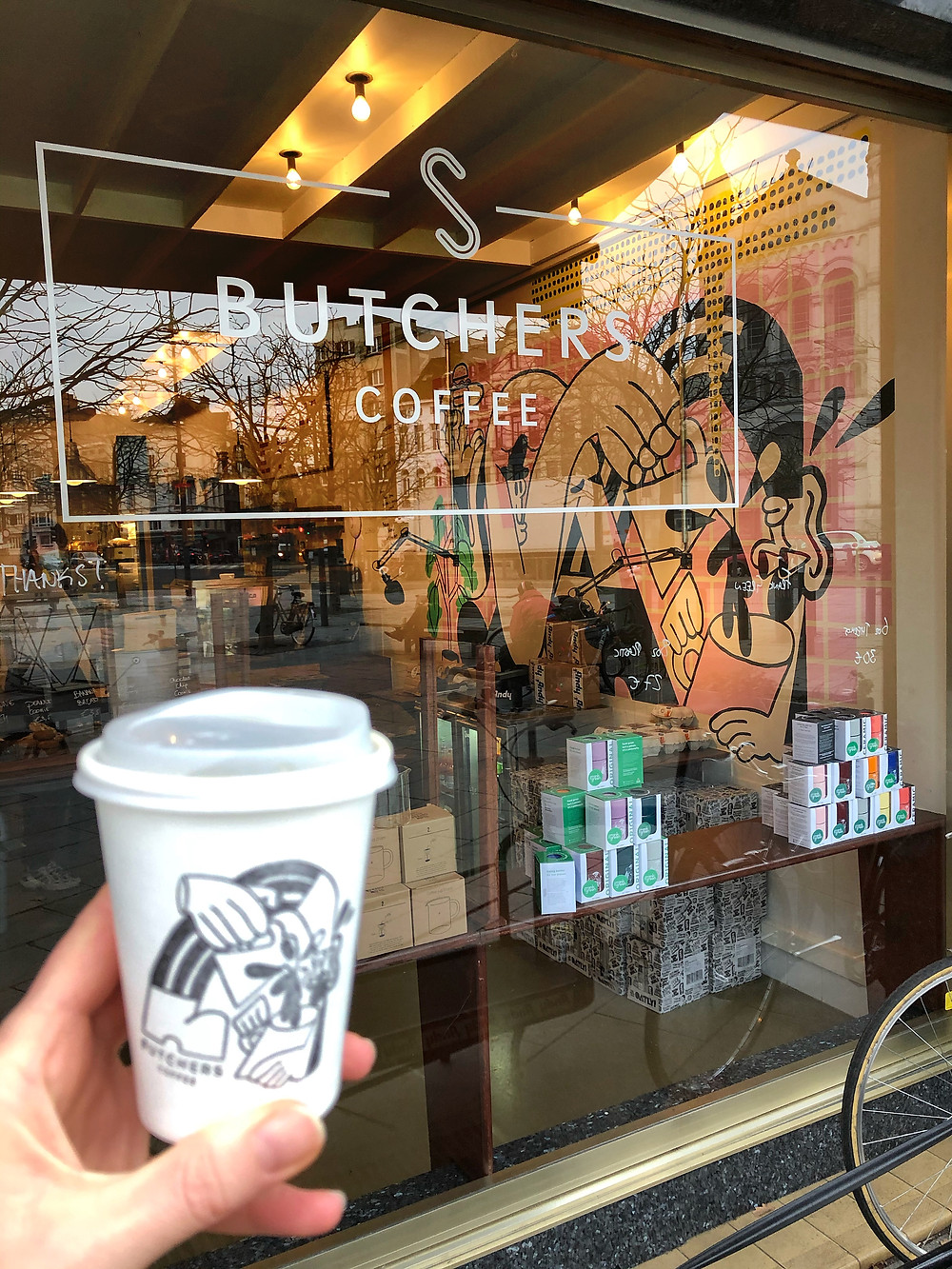 Butchers Coffee, take away coffee, Antwerp