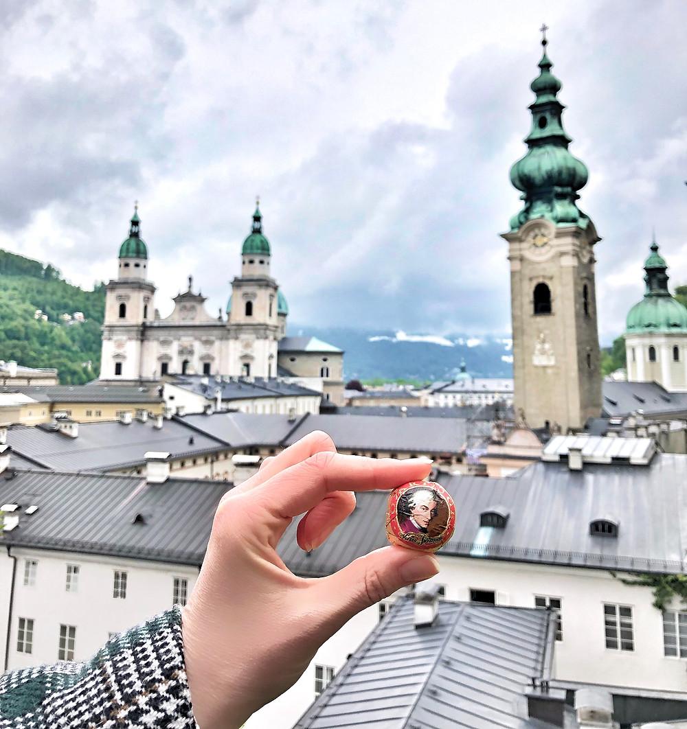 Mozart Kugel Salzburg