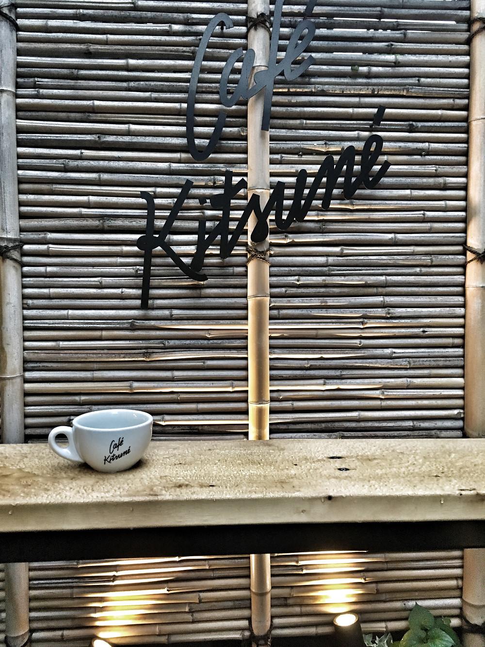 Coffee at at Café Kitsuné Tokyo