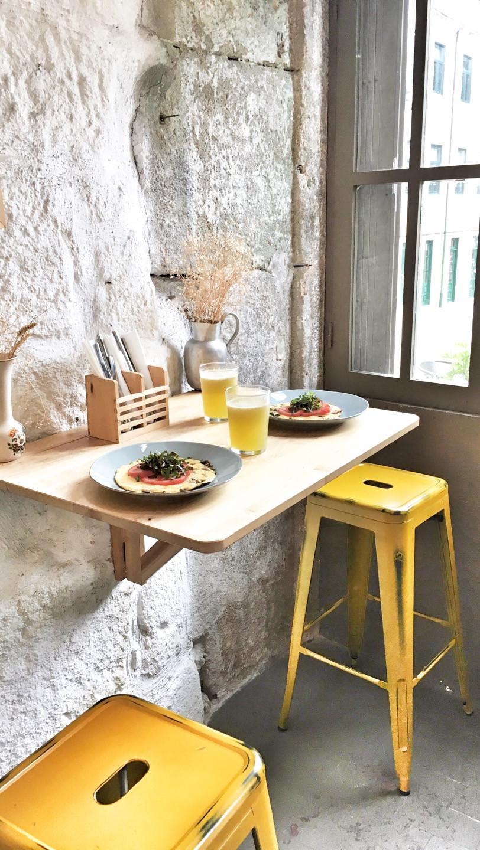 Breakfast at Óbio in Porto