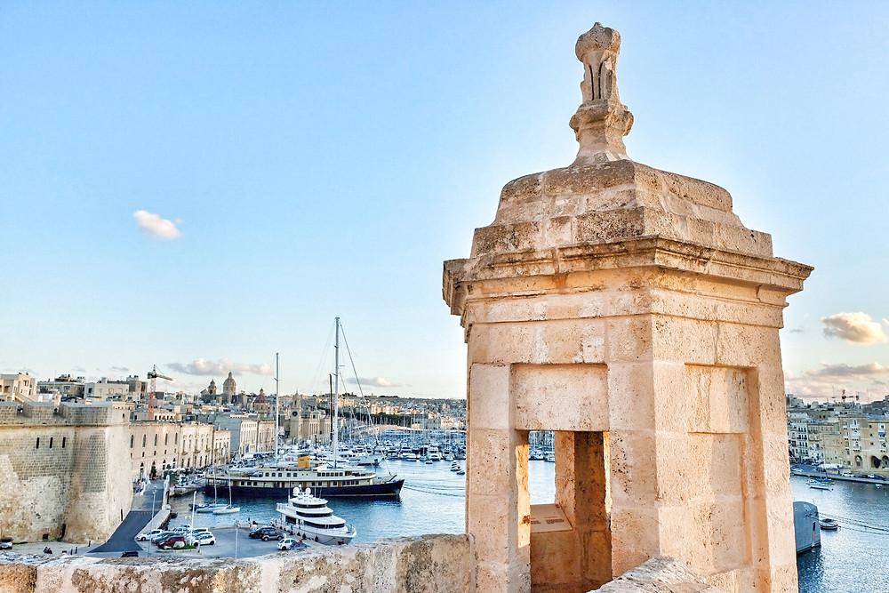 Fort St. Angelo in Vittoriosa Malta