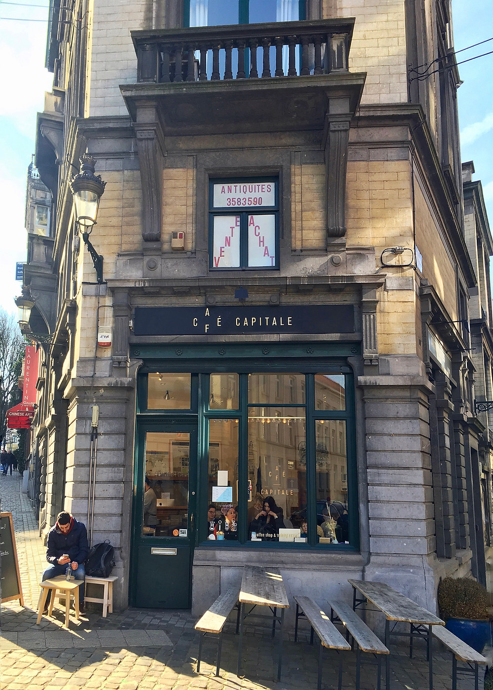 Café Capitale, Brussels, Belgium