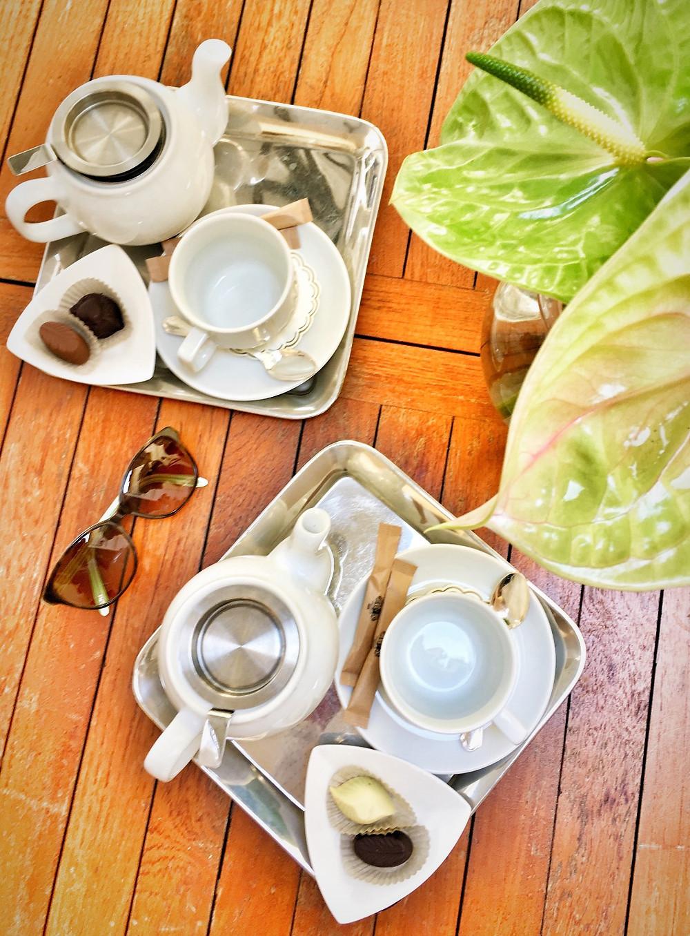 Tea at Alchymist Grand Hotel & Spa in Prague