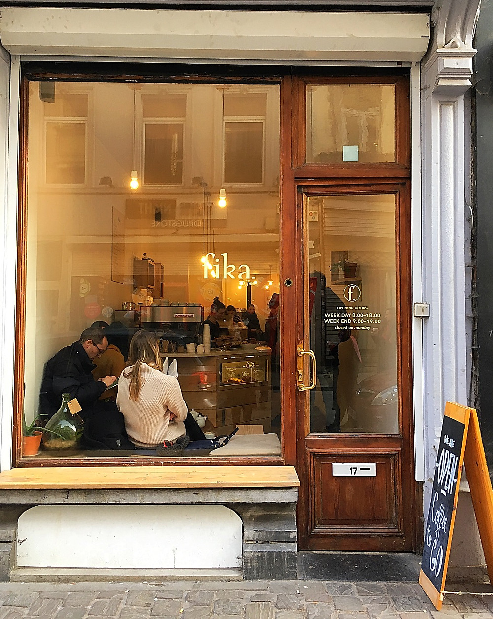 Fika Coffee, Brussels, Belgium