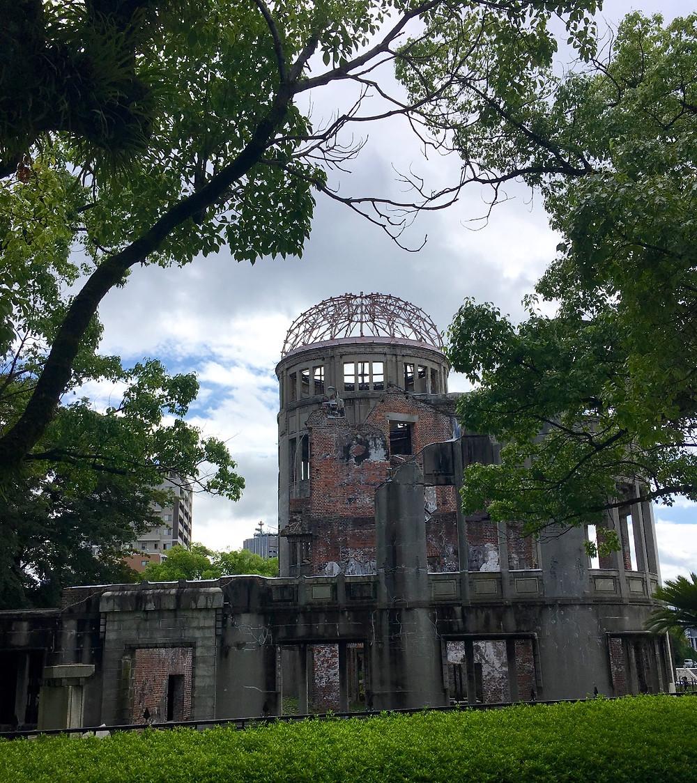 Ground Zero at Hiroshima Japan