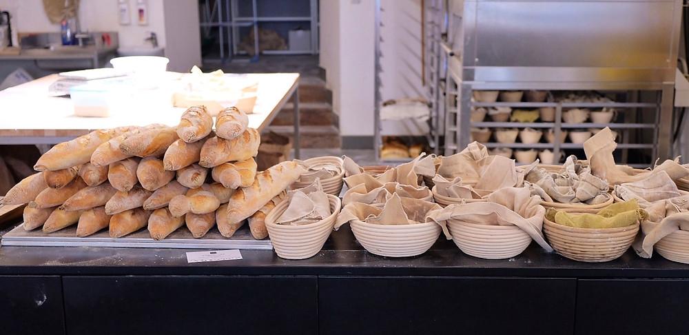 Pekarna OSEM Bakery in Ljubljana, Slovenia