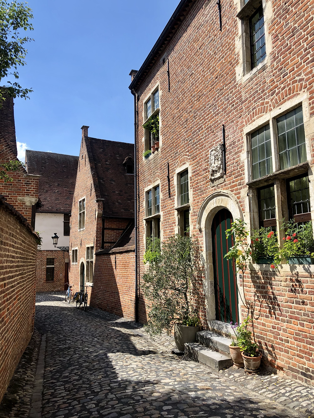 Street in Great Beguinage Leuven