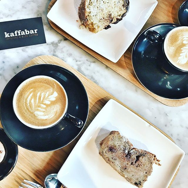 Coffee at Kaffabar in Brussels