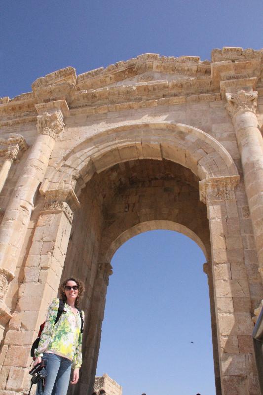 Lonnies Planet at Jerash Jordan