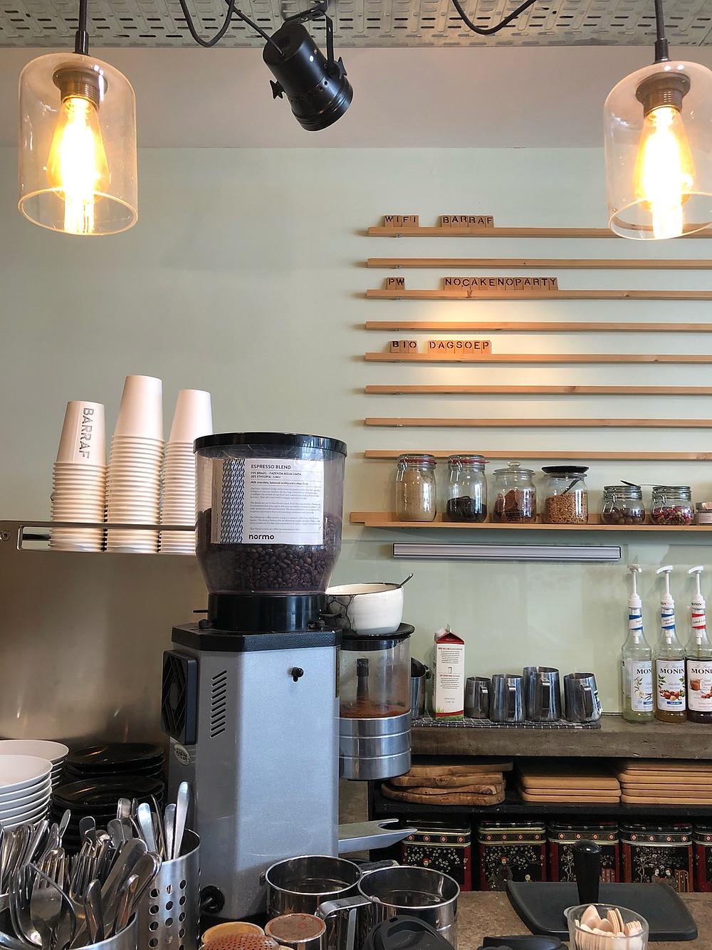Normo Coffee at Barraf in Lier