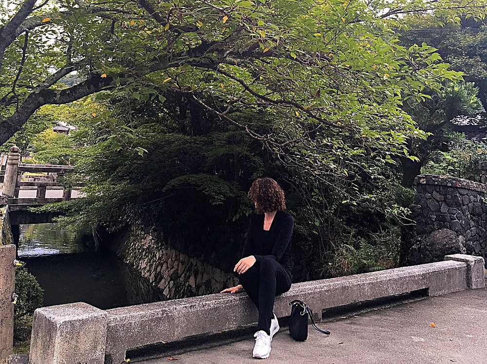 Lonnies Planet at Philosophers Path in Kyoto