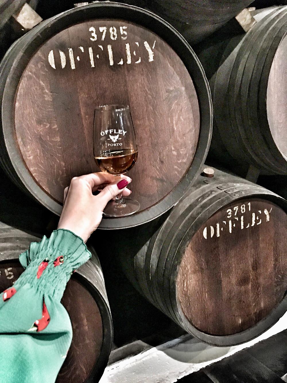 Port tasting at Offley Cellars in Porto