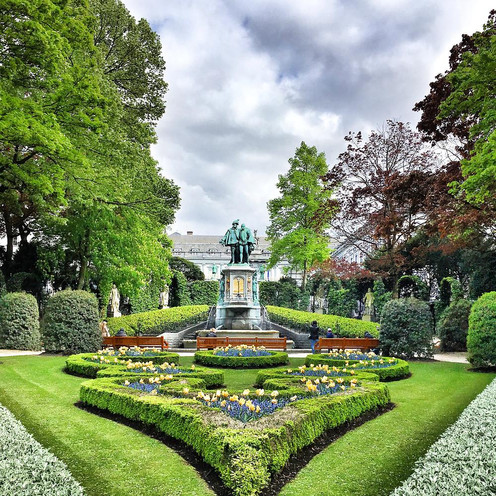 Jardin du Petit Sablon in Brussels