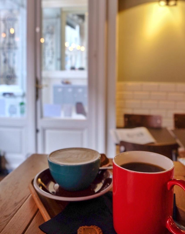 Coffee at Take 5 Espressobar in Ghent