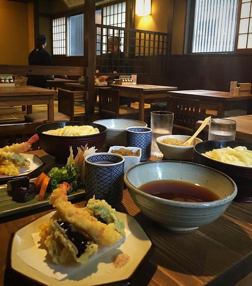Restaurant Omen, Kyoto Japan