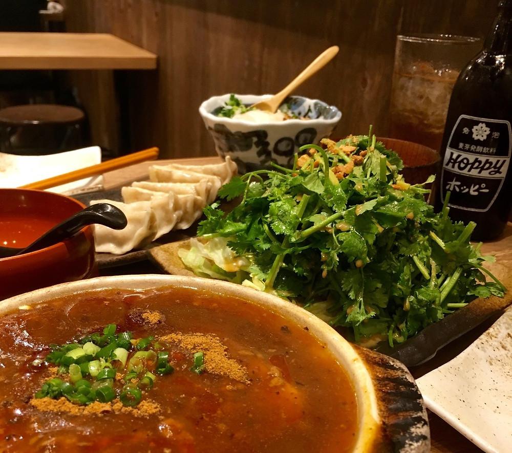 Food in Shibuya, Tokyo