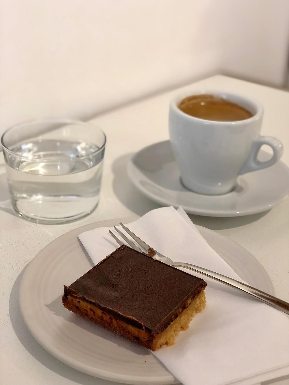 Coffee and cake at Borgman Borgman in Leiden