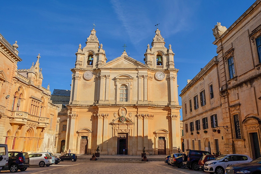 St. Paul's Cathedral in Mdina Malta
