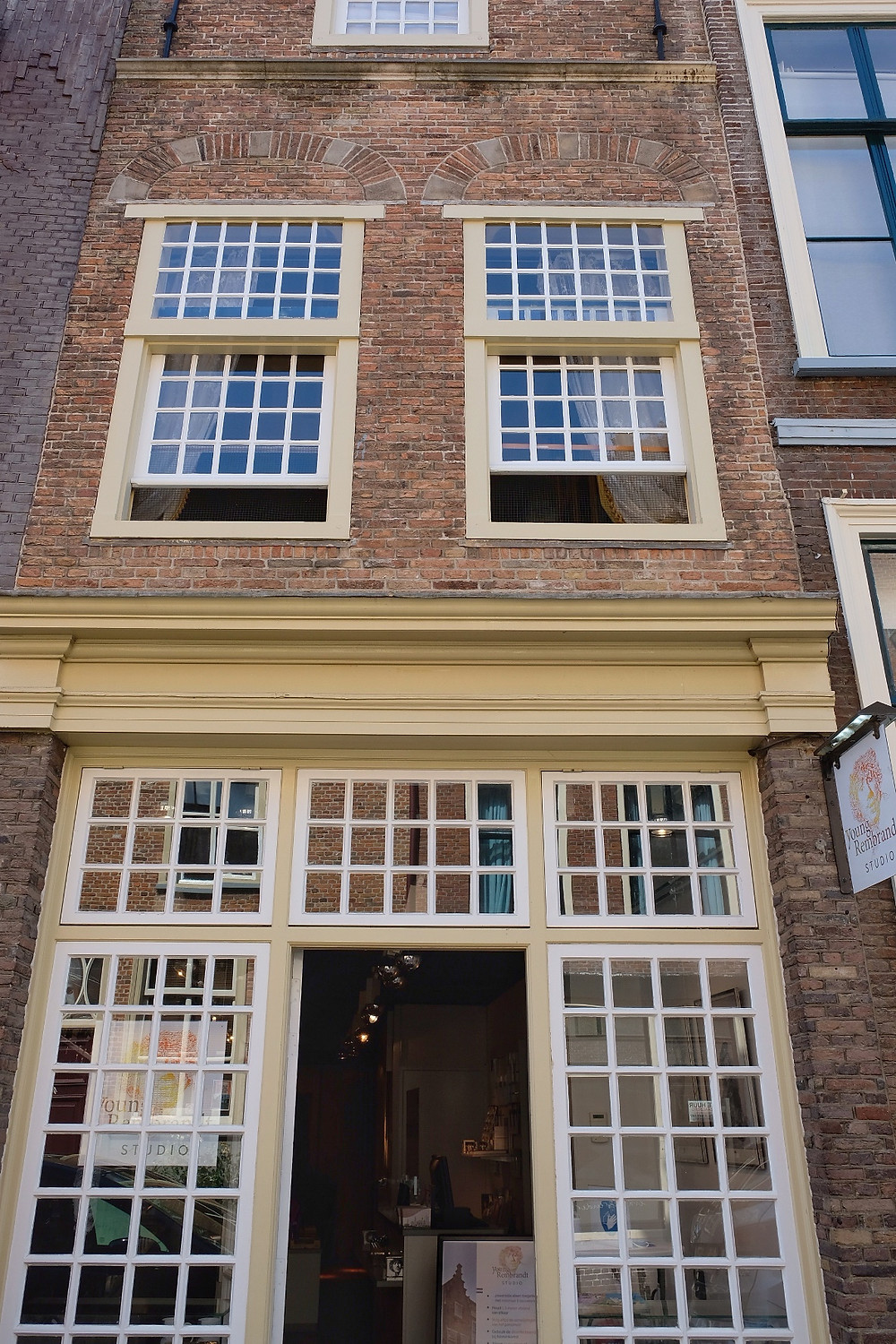 The Young Rembrandt Studio in Leiden