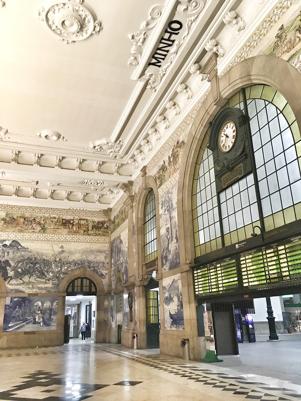São Bento Train Station in Porto