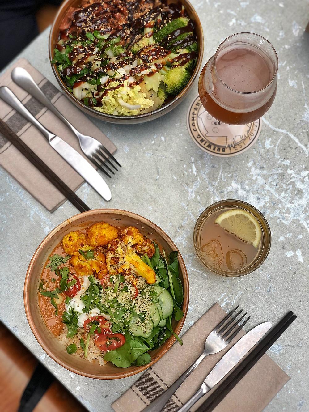Bowls at 'Pura Vida Foodbar' Midsland Terschelling