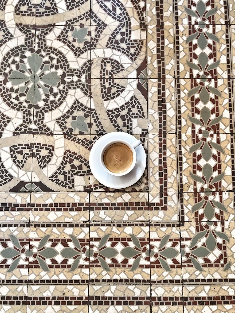 Coffee at Brasserie De Stadstuin, Franeker