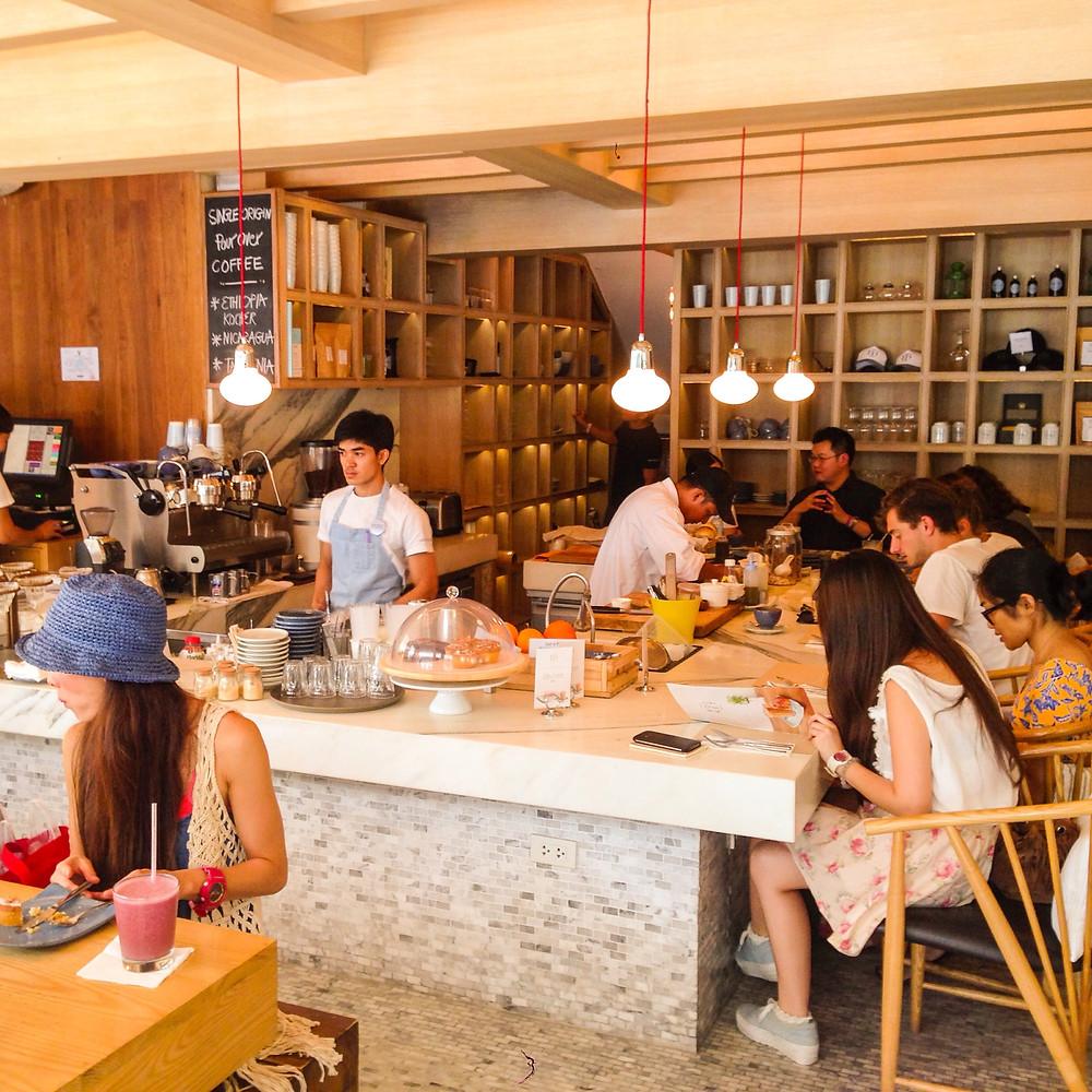 Rocket Coffeebar S.12 in Bangkok