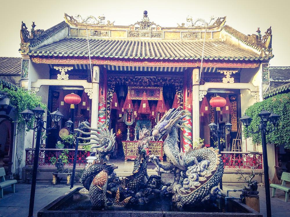 Temple Hoi An, Vietnam