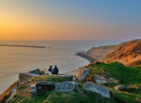 Boulogne-sur-Mer: a fortified city at the rugged Northern French coast