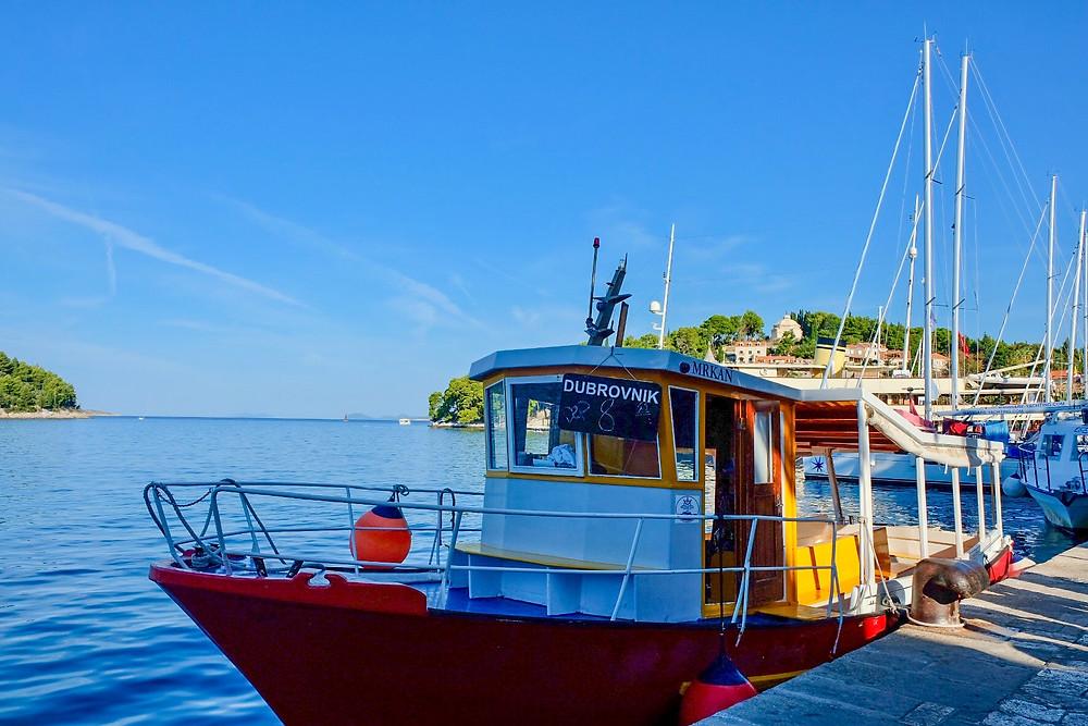 Boats in Cavtat Croatia