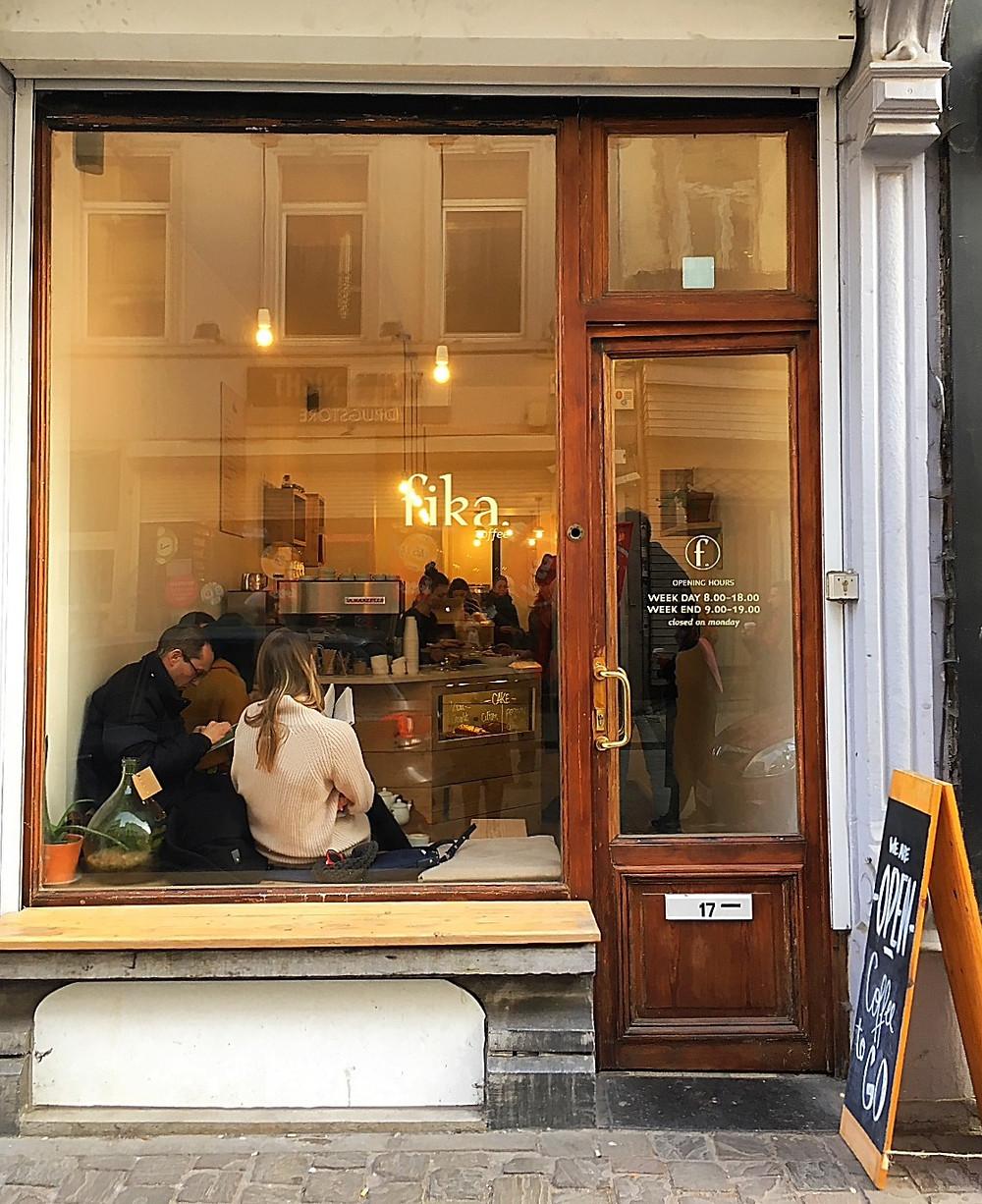 Fika Coffee, Brussels, Belgium