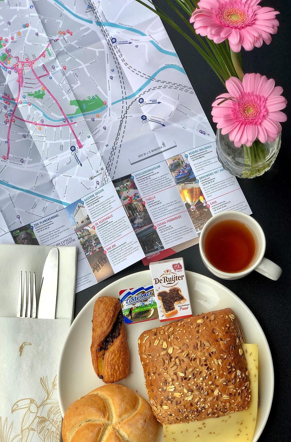 Breakfast at Van der Valk Hotel Mechelen