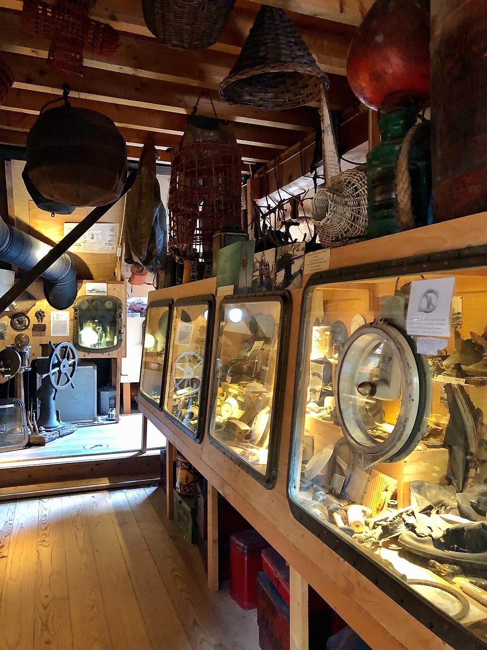 Shipwreck museum (wrakkenmuseum) Terschelling