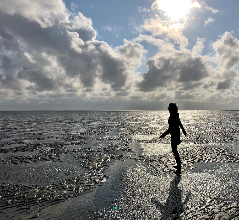 Lonnies Planet wadlopen (mud walking) at Terschelling