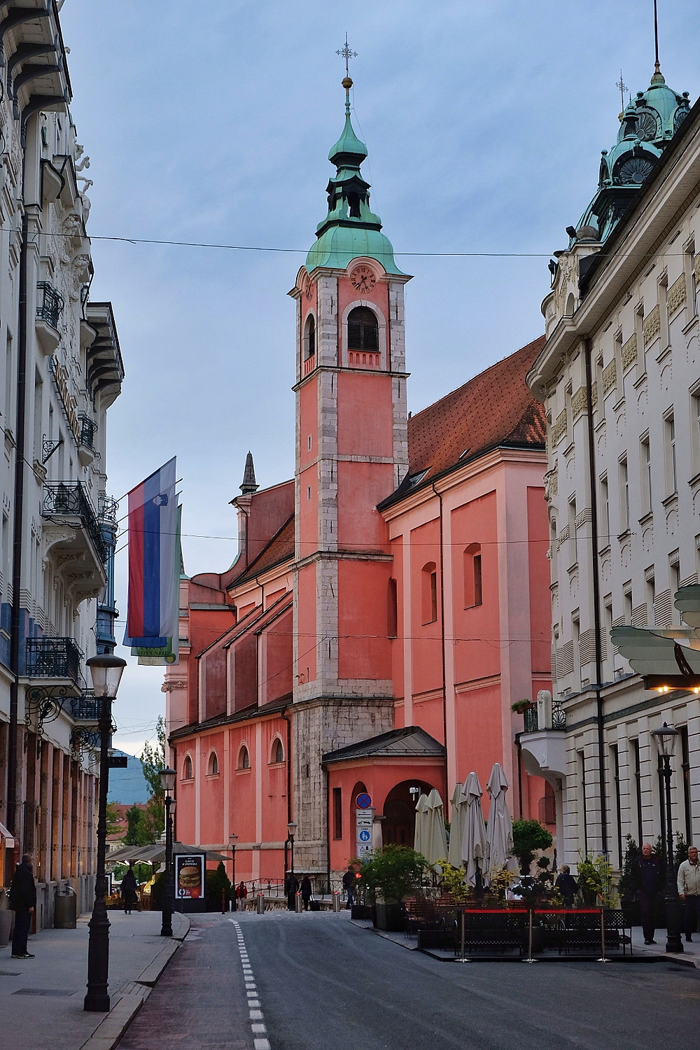Franciscan Monastery and Church of the Annunciation, Ljubljana, Slovenia