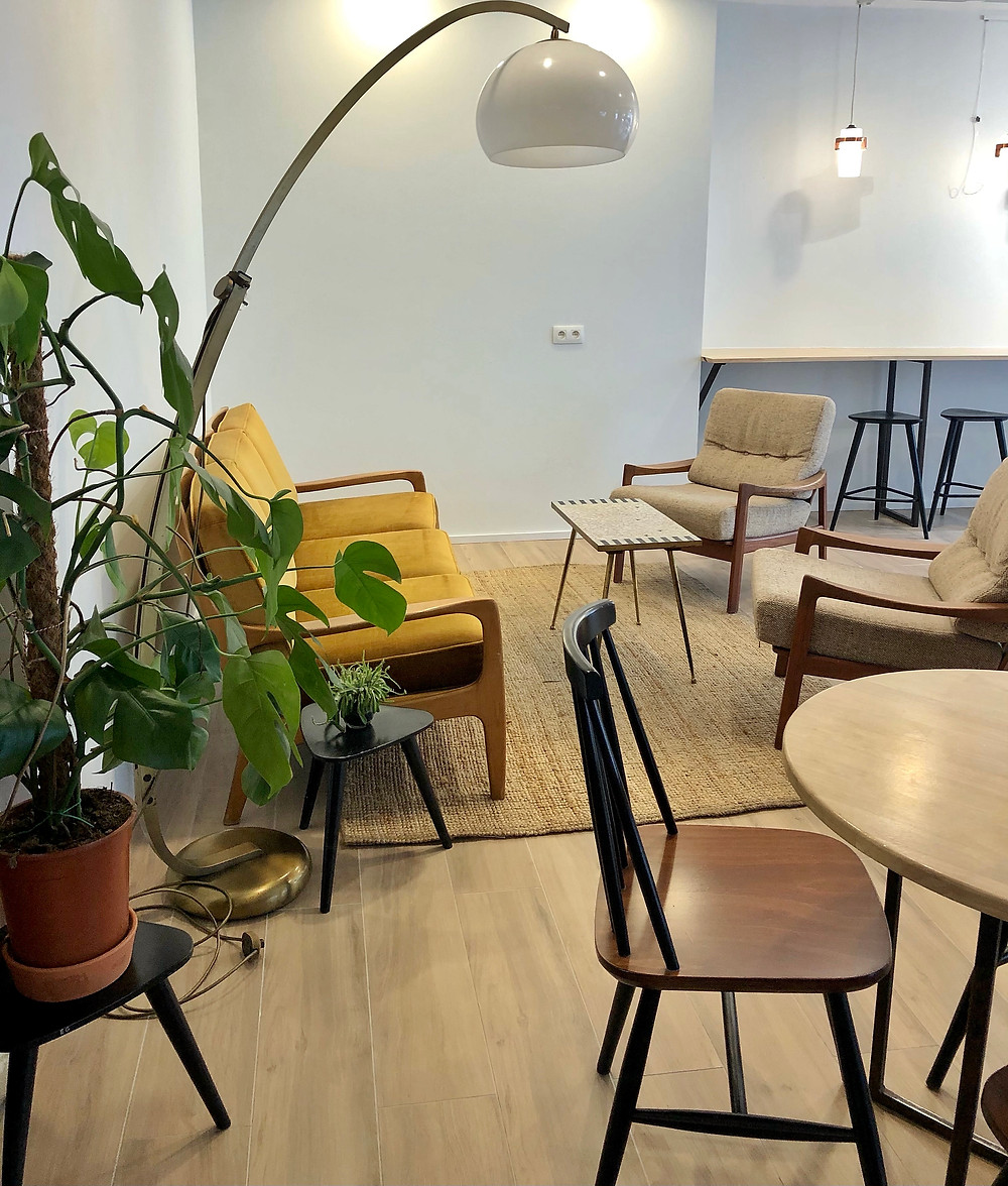 Cuperus Horsey Coffee Bar interior Antwerp