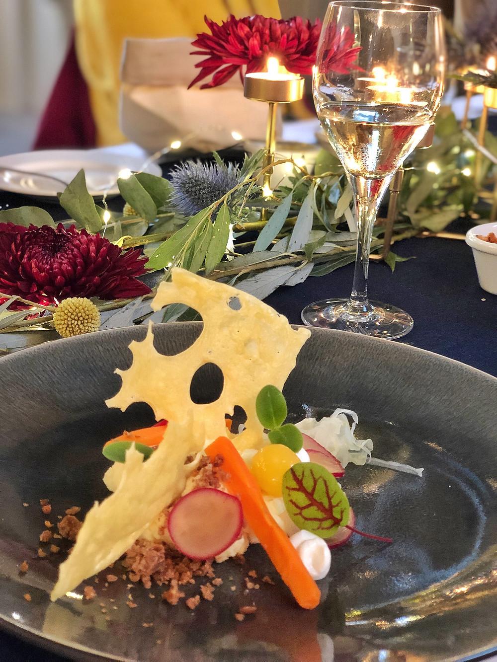 Dinner at Aerden Plaats in Oude Bildtzijl, Friesland