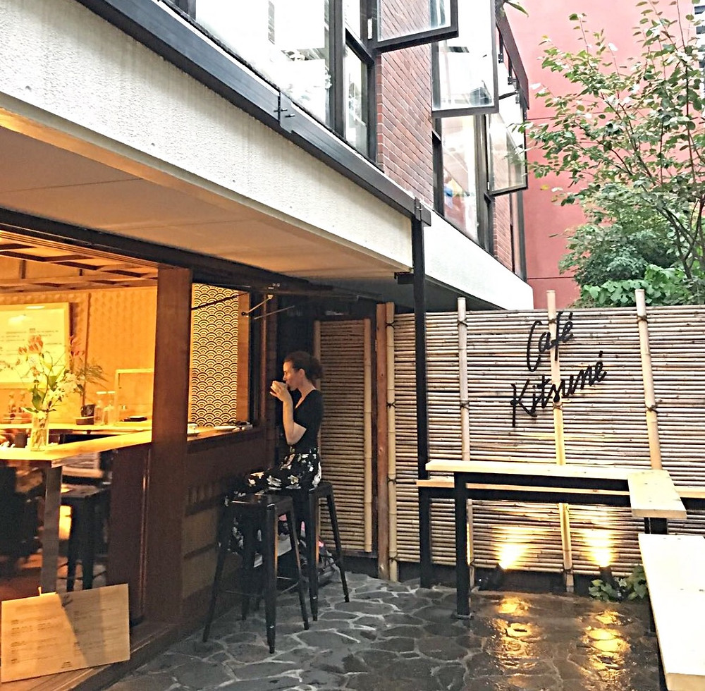 Lonnies Planet at Café Kitsuné Tokyo