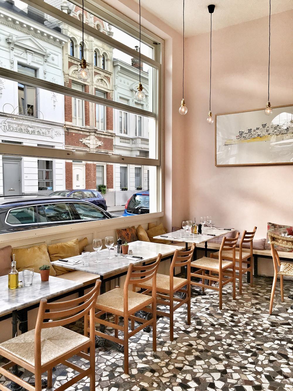 Restaurant Orso in Antwerp